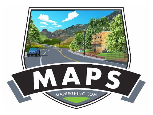 Image of West Manitou Avenue and MAPS logo
