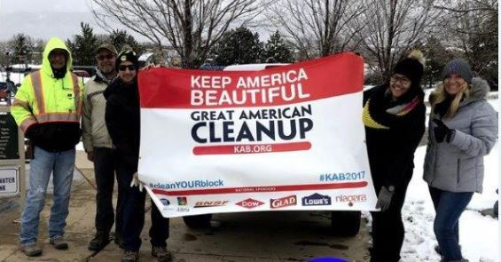 Great American Clean Up Photo